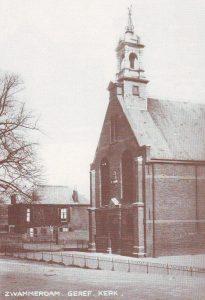 Deze foto werd voor 1939 genomen; het torentje werd in dat jaar weggehaald.