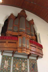 Het orgel van de Noorderkerk (foto: Reliwiki).