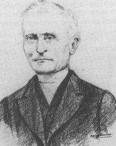 Ds. J.W. te Bokkel (1815-1888).