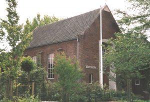 De voromalig gereformeerde Maranathakerk te Haaksbergen (foto: REliwiki, G. Bennink).