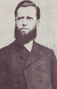 Ds. T. Noordewier (1843-1913), (chr.) geref. predikant te Meppel van 1880-1913.