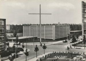 De voormalig gereformeerde Ontmoetingskerk in Den Haag.