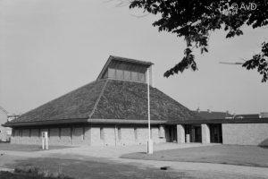 De (als gereformeerde kerk gebouwde) protestantse Morgensterkerk te Heemskerk.