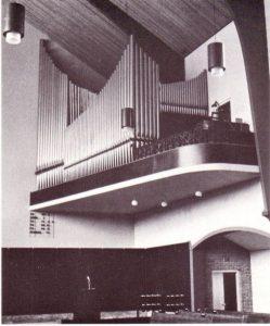 Het orgel van de Westekerk.