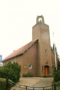 De voormalige gereformeerde kerk te Bredevoort.