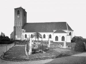 De hervormde kerk te Lisse.