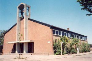 De huidige Ichthuskerk.
