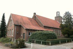De gereformeerde kerk van opzij.