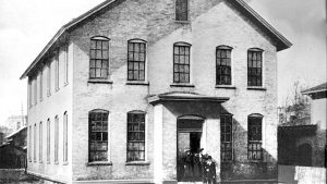 Het Calkvin College en Seminary in Grand Rapids werd in 1876 opgericht.