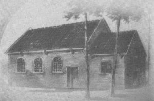 "Het oude kerkje van Emlichheim (foto""Eine Gemeinde')."