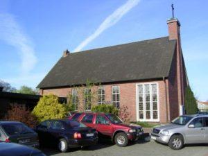 De huidige Evangelisch-Altreformierte kerk in Ihrhove.