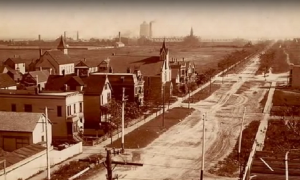 Old Roseland omstreeks 1900.