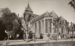 De kerk van de hervormde gemeente te Schoonhoven.
