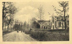 De nieuwe kerk aan de Beekstraat die in 1908 in gebruik genomen werd.