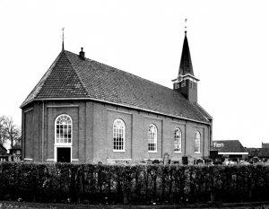 De hervormde kerk te Heeg.