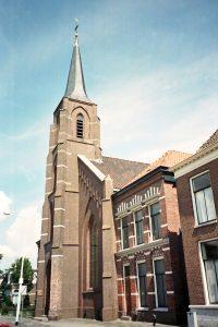 De gereformeerde kerk te Lemmer (foto: Reliwiki, A. Rademaker, H.I. Ambacht).