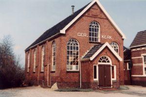 De gereformeerde kerk van Stadskanaal-Pekelderweg.