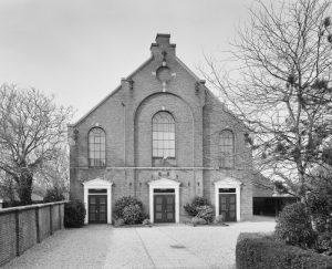 De gereformeerd kerk te Waarder.