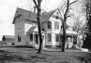 De in 1895 gebouwde pastorie te Alto.