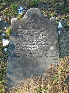 Ouderling Dirk Knock overleed in 1869.