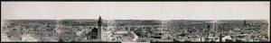 Panorama van de stad Albany in 1906 (foto: Wikimedia).