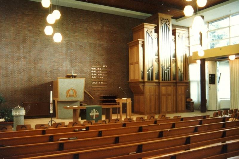 Barendrecht sluit twee v m gereformeerde kerken website - Makers van het interieur ...