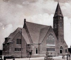 De voormalig gereformeerde Bethelkerk te Barendrecht.
