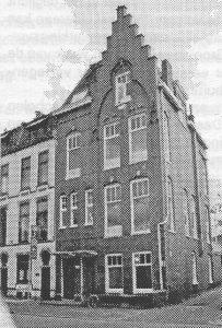 Het vroegere Emmahuis aan de Emmasingel.