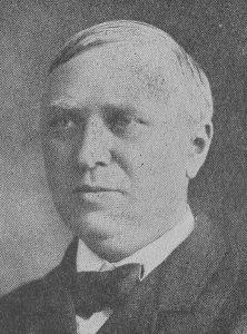 Ds. J. Keozer (), hier tijdens zijn verblijf in Amerika.