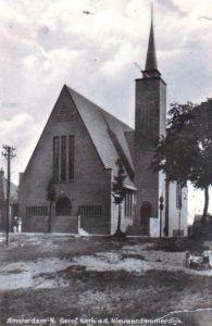 De in ... in gebruik genomen Noachkerk te Nieuwendam.
