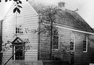 Het eerste gereformeerde kerkje van Landsmeer.