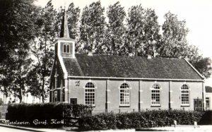 In 1913 werd de kerk te Metslawier in gebruik genomen en doet nog steeds dienst als protestantse kerk.