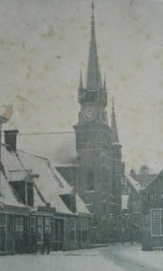 De kerk in de winter van 1911.