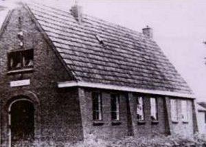 Het evangelisatiegebouw te Bakkeveen.