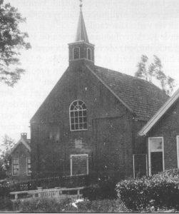 De eerste gereformeerde kerk te Duurswoude (1860-1909).