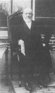 Ds. J. van der Vlies (1847-1932).