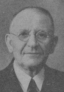 Ds. W. Schepel (1878-1952).