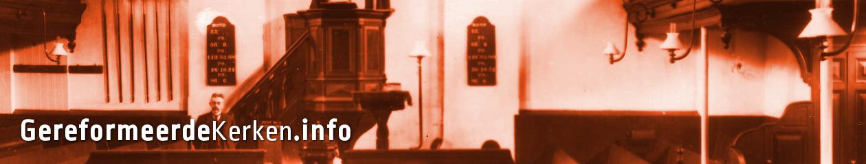 Website gewijd aan de landelijke en regionale geschiedenis van de Gereformeerde Kerken in Nederland (GKN) 1834-2004.